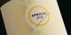 Apricus Hill — The Dieline - Package Design Resource