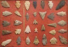 Identify Types of Arrowheads