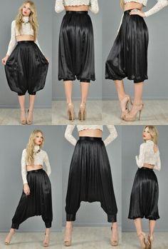 Harem pants. LOVE