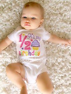 Happy Birthday happy half birthday by 5littleblessings on Etsy, $21.00