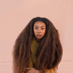 Literally my hair goal Pelo Natural, Long Natural Hair, Curly Hair Styles, Natural Hair Styles, Beautiful Black Hair, Afro Textured Hair, Coily Hair, Divas, Dreadlocks