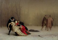 The duel after the masquerade-Jean Leon Gerome