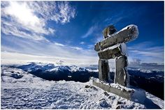 Whistler, B.C.  Absolutely beautiful, and the inukshuk will protect your house from polar bears.