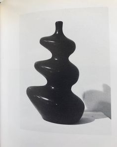 """thenovemberissue: """" modedamour: """"Ceramic Vase: By Georges Jouve, 1953 """" More posts like this here """" Ceramic Vase, Ceramic Pottery, Slab Pottery, Pottery Bowls, Porcelain Ceramics, Vases, Cerámica Ideas, Pool Designs, Decoration"""