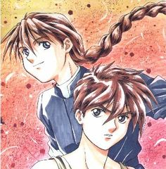 Duo Maxwell and Heero Yuy of Gundam WIng Duo Maxwell, Heero Yuy, Gundam Wing, Anime Shows, Mobile Suit, Wings, Fan Art, Gw, Pilots