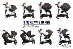 Graco Uno2Duo Double Stroller - Oakley : Target Cute Baby Strollers, Double Strollers, Oakley, Cute Babies, Target, Funny Babies, Cute Kids