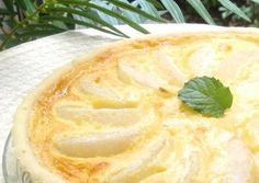 Asian Pear Yogurt Tart Recipe -  Very Delicious. You must try this recipe!