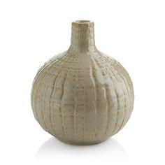 Hagen Short Vase | Crate and Barrel