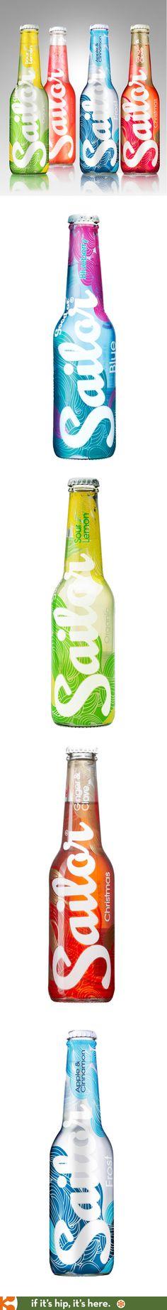 Sailor Ciders have great bottle designs.