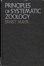 Principles of Systematic Zoology Ernst Mayr McGraw-Hill, 1ª edição, 1969 ISBN: 978-0070411432  Tipo: Capa dura  Número de páginas: 427