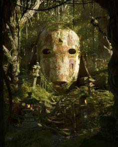 Artist Filip Hodas on creating an incredible, brand new 'pop culture dystopia' artwork series Cultura Pop, Fantasy Kunst, Fantasy Art, Dragonball Anime, Game Art, Art Studio Ghibli, Pop Culture Art, Ghibli Movies, Arte Horror