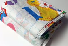 Sesame Street Vintage Bed Sheet Set(Mine had these♡)
