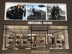 Michael Kors: TLS backlit storefront display // LED lighting display More: https://www.tls-led.com/projects