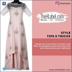 Look #Elegant in #Pastels!  Wear this #Gorgeous pastel pink maxi dress to look gorgeous and trendy. #Style this outfit with chunky oxidised earrings, a bucket bag and high heels.  Shop this style trend only at www.thehlabel.com  #StyleTips #TheHLabel Pink Maxi, Pink Dress, Trendy Style, Looking Gorgeous, Pastel Pink, Pastels, Bucket Bag, Cool Designs, Ethnic