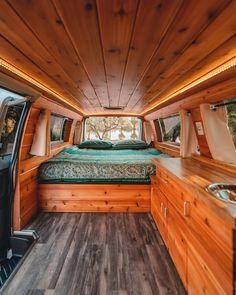 van home layout 357965870384554002 - Buy a Boho Van — Boho Camper Vans Vw Lt Camper, Rent Camper, Camper Life, Diy Van Camper, Sprinter Camper, Vw T5, Camper Interior Design, Van Interior, Kombi Interior