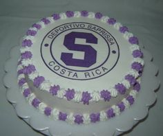 Saprissa cake Sport Cakes, Cake Fondant, Cup Cakes, Costa Rica, Bakery, Decorated Cakes, Tortilla Pie, Desserts, Food Cakes