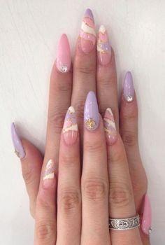 Nail art galleries, cute nails, my nails, pretty nails, purple acrylic nail Best Acrylic Nails, Acrylic Nail Designs, Nail Art Designs, Unique Nail Designs, Dark Nail Designs, Short Nail Designs, Hair Designs, Nail Swag, Aycrlic Nails