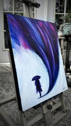 Surreal Painting Umbrella Painting Abstract Painting