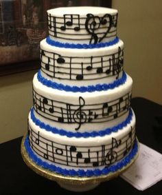 musical cakes ideas - Google Search