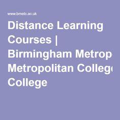 Distance Learning Courses | Birmingham Metropolitan College
