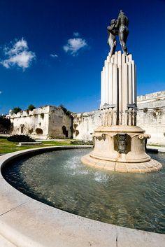 Harmouny Fountain - Lecce, Salento, Apulia, Italy