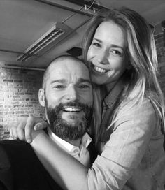 Laura Tott and Fred Siriex