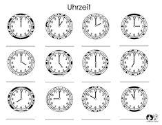 Time German Printout