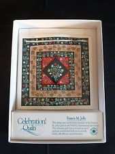 Celebration of American Quilts Ceramic Tile Ornament ~ FRANCIS M JOLLY ~ IOB