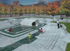 Rainwater into a playground