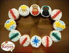 Cupcakes Rosca de Reyes