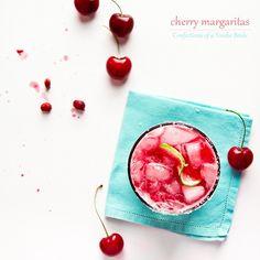 cherry margaritas by foodiebride, via Flickr