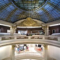 The Rotunda at Neiman Marcus - San Francisco - San Francisco, CA on OpenTable Glass Drinking Bottles, San Francisco Restaurants, Afternoon Tea, Neiman Marcus, Luxury Homes, Mansions, House Styles, Building, Travel