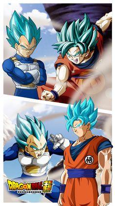 Goku vs Bezita A by JemmyPranata