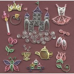 Quilled Creations Quilling Kits - Just For Little Girls