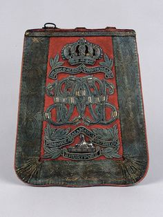 Sabretache used by Lieutenant Walter Stephens Brinkley, 11th (Prince Albert's Own) Hussars, 1848 (c) | Online Collection | National Army Museum, London