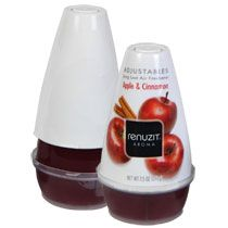 Bulk Renuzit Adjustables Apple & Cinnamon Solid Air Fresheners, 7 oz. at DollarTree.com