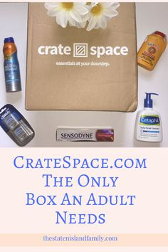 "Stock up on household products from Crate Space! Unlike Amazon Prime, there are no fees, no third party sellers, and no hassles. With Cratespace.com, you can get any 5 full-sized brand name household or personal care items for only $29.99 with fast free shipping. Shop simple and Use the code STATEN in the next 48 hours and get 20% off your first crate. That means you can save up to 50% off retail prices on your first five items, plus free shipping!"" keep reading here for more information…"