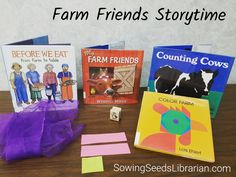 Farm Friends Storytime – Sowing Seeds Librarian