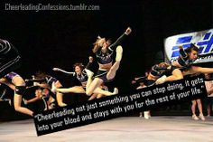 What does Cheerleading mean to you?