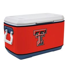 Texas Tech Red Raiders Ncaa Rappz 70qt Cooler Cover - VIC-810017TTU-002