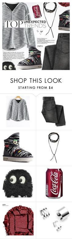 """Street Style"" by pokadoll ❤ liked on Polyvore featuring CENA, Anya Hindmarch, Urban Decay, polyvoreeditorial and polyvoreset"