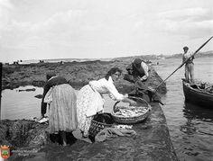 Sardineras en Lo Liso (1896) Gelatino-bromuro Seafarer, Basque Country, Working People, Bilbao, Romania, Madrid, Hunting, Black And White, Image