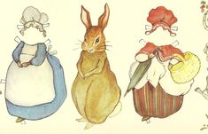 Mostly Paper Dolls: A RABBIT A DAY