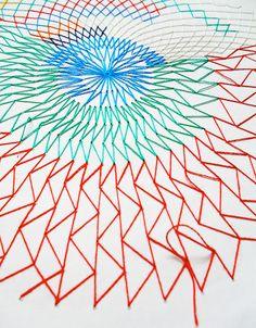 El blog de Dmc: Entrevistamos a Rachel Parker, artista textil inglesa