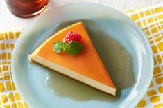 Flan de queso crema (sin hornear) Receta - Comida Kraft