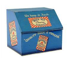 Original Beech-Nut Tobacco Store Bin