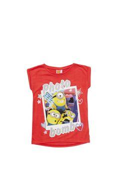 Clothing at Tesco | Universal Studios Minions Selfie T-Shirt > tops > Tops & T-shirts > Kids