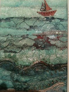 textile art embroidery - Google Search