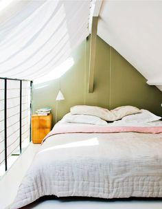 open balcony bedroom curtain solution