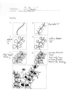 Bee Zen: Free Tangles--C-Yeah!